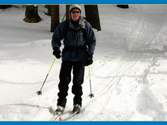 Crosscountry skiing can be thrilling and relaxing