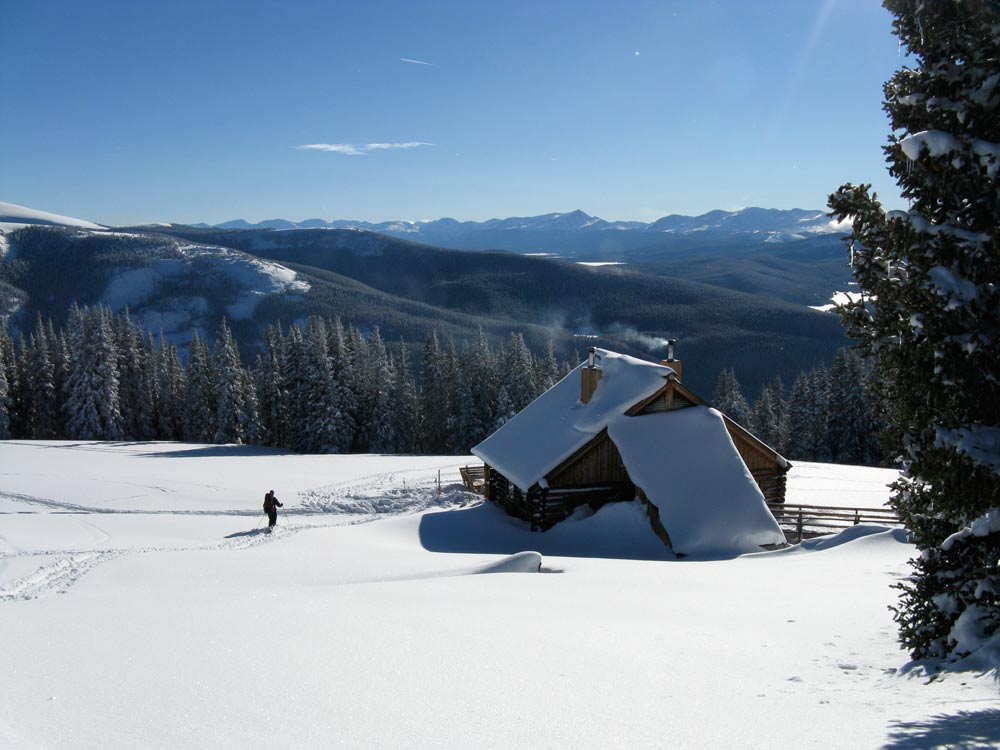 10th Mountain Division Hut Trips Vail Colorado Image 1